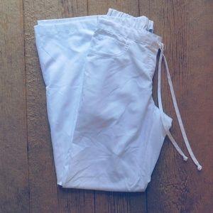 Grey's Anatomy Scrub Pants White